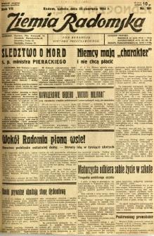 Ziemia Radomska, 1934, R. 7, nr 141
