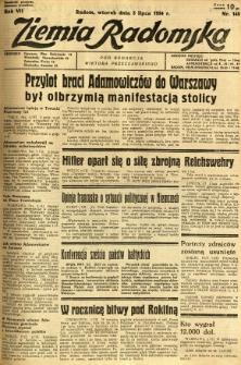 Ziemia Radomska, 1934, R. 7, nr 148