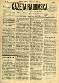 Gazeta Radomska, 1888, R. 5, nr 30