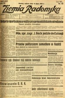 Ziemia Radomska, 1934, R. 7, nr 158