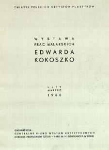 Wystawa prac malarskich Edwarda Kokoszko