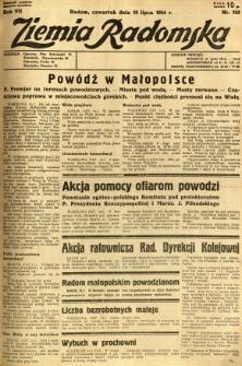 Ziemia Radomska, 1934, R. 7, nr 162