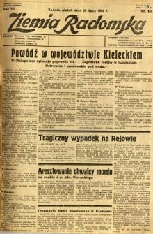 Ziemia Radomska, 1934, R. 7, nr 163