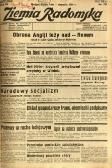 Ziemia Radomska, 1934, R. 7, nr 173