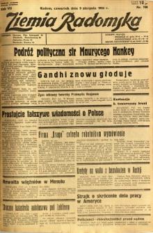 Ziemia Radomska, 1934, R. 7, nr 180