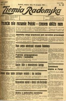 Ziemia Radomska, 1934, R. 7, nr 187