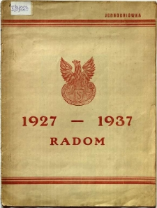 1927-1937 Radom