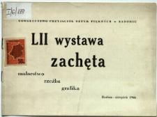 """Wystawa """"Zachęta"""" : malarstwo, rzeźba, grafika"""