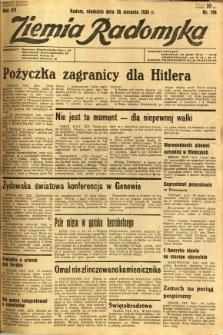 Ziemia Radomska, 1934, R. 7, nr 194