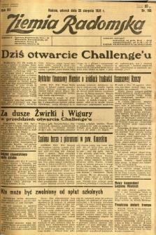 Ziemia Radomska, 1934, R. 7, nr 195