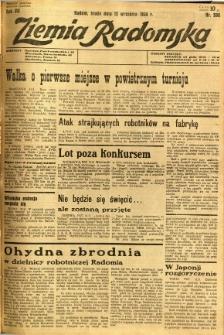 Ziemia Radomska, 1934, R. 7, nr 208
