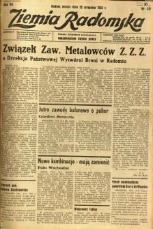 Ziemia Radomska, 1934, R. 7, nr 217