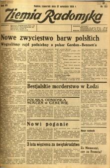 Ziemia Radomska, 1934, R. 7, nr 221