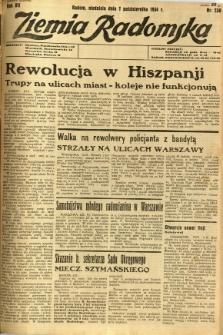 Ziemia Radomska, 1934, R. 7, nr 230