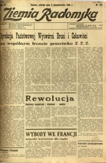 Ziemia Radomska, 1934, R. 7, nr 231