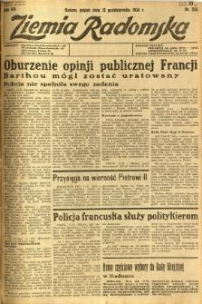 Ziemia Radomska, 1934, R. 7, nr 234