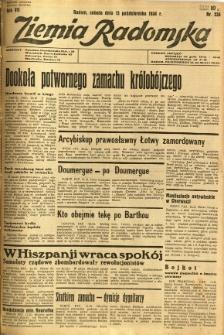 Ziemia Radomska, 1934, R. 7, nr 235