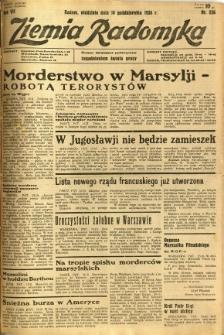 Ziemia Radomska, 1934, R. 7, nr 236