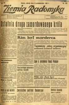 Ziemia Radomska, 1934, R. 7, nr 237