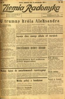 Ziemia Radomska, 1934, R. 7, nr 239
