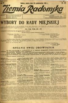 Ziemia Radomska, 1934, R. 7, nr 241