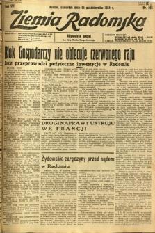 Ziemia Radomska, 1934, R. 7, nr 245