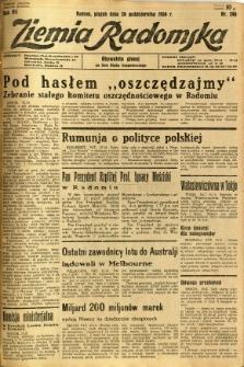Ziemia Radomska, 1934, R. 7, nr 246