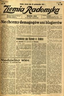 Ziemia Radomska, 1934, R. 7, nr 249