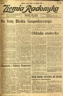 Ziemia Radomska, 1934, R. 7, nr 252