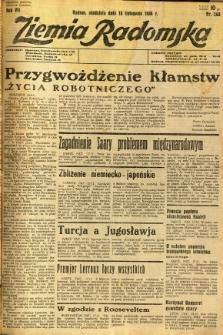 Ziemia Radomska, 1934, R. 7, nr 265