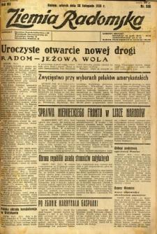 Ziemia Radomska, 1934, R. 7, nr 266