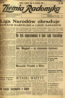 Ziemia Radomska, 1934, R. 7, nr 268