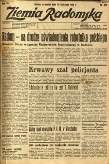 Ziemia Radomska, 1934, R. 7, nr 274