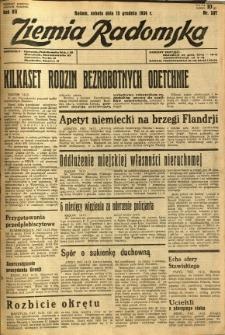 Ziemia Radomska, 1934, R. 7, nr 287