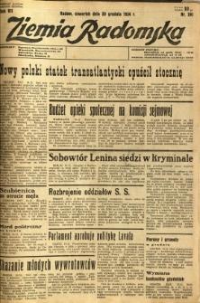 Ziemia Radomska, 1934, R. 7, nr 291