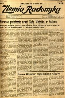 Ziemia Radomska, 1934, R. 7, nr 292