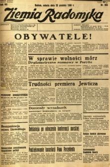 Ziemia Radomska, 1934, R. 7, nr 293