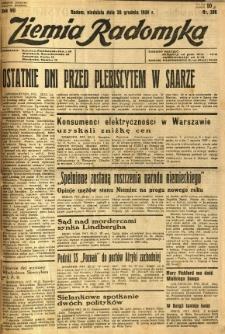 Ziemia Radomska, 1934, R. 7, nr 298