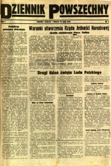 Dziennik Powszechny, 1945, R. 1, nr 6