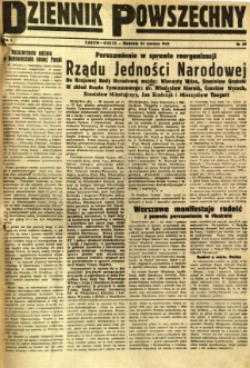 Dziennik Powszechny, 1945, R. 1, nr 39