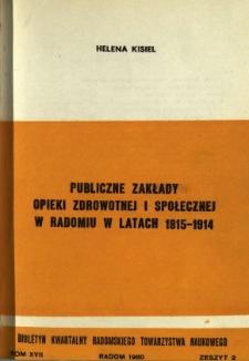 Biuletyn Kwartalny Radomskiego Towarzystwa Naukowego, 1980, T. 17, z. 2