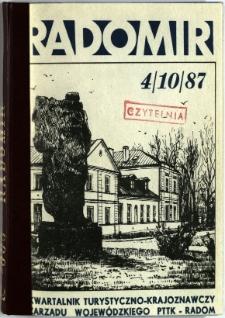 Radomir, 1987, R. 3, nr 4