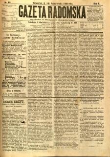 Gazeta Radomska, 1888, R. 5, nr 84