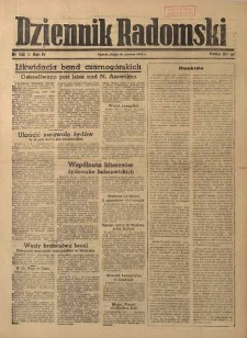 Dziennik Radomski, 1943, R. 4, nr 145