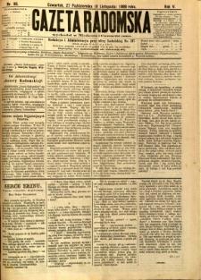 Gazeta Radomska, 1888, R. 5, nr 90