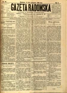 Gazeta Radomska, 1888, R. 5, nr 95