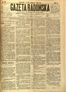 Gazeta Radomska, 1888, R. 5, nr 96