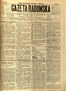 Gazeta Radomska, 1888, R. 5, nr 99