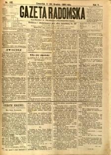 Gazeta Radomska, 1888, R. 5, nr 102