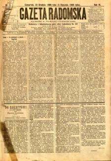 Gazeta Radomska, 1889, R. 6, nr 2